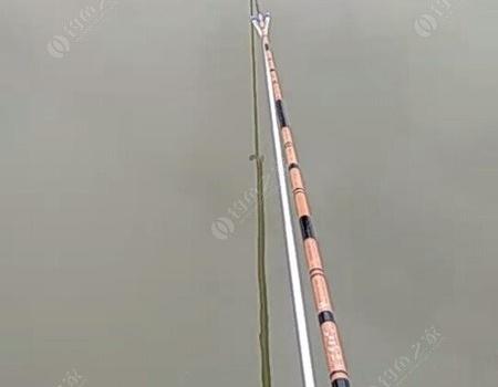 初试3米日本玻璃钢竿 自制饵料钓鳊鱼