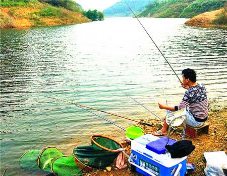 发周末鱼获 周末约不到人 自己带个新手小弟 老鬼饵料钓罗非鱼