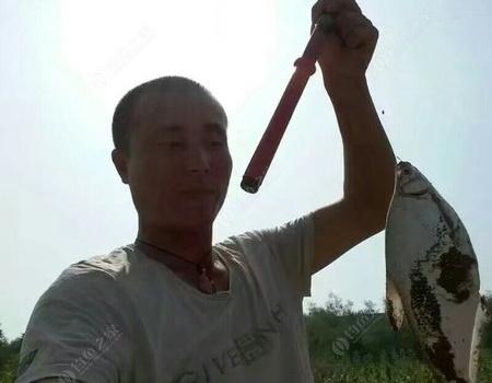 第一次钓到黄河大鲤鱼 钓鱼之家饵料钓鳊鱼
