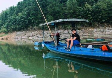 富水水库新庄坪垂钓基地