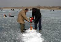 冬季冰上野钓鲤鱼常用技巧