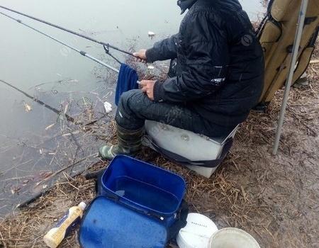 冬釣漫記之雪天探釣點