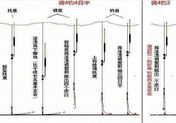 小跑铅钓法原理详细解析,真正的技巧