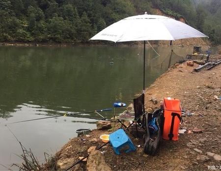 獨釣寒江雪 一人一桿一水庫 釣魚之家餌料釣青魚