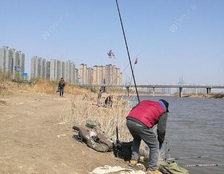 半日空闲,那也得渭水河畔过。