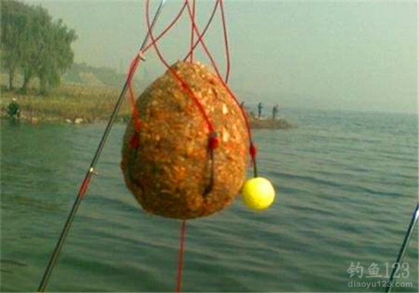 爆炸鉤魚餌