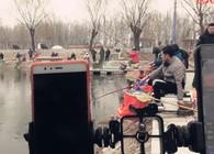 《陪着地瓜去钓鱼》 北京花儿黑坑钓鲫鱼(上)