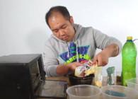 《鱼饵君》渔具店畅销钓鲫鱼的三色酒米制作方法 真的没那么难