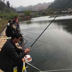 通海县落江冲钓鱼塘