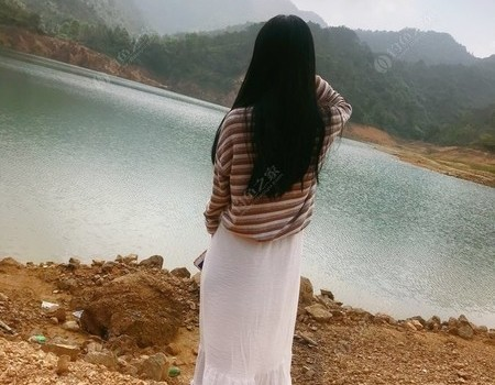女釣手續篇:4月的深圳某水庫。